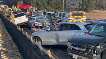 69 autó rohant egymásba egy amerikai sztrádán