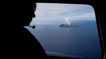 Tizenhétre nőtt az új-zélandi vulkánkitörés hallottainak száma