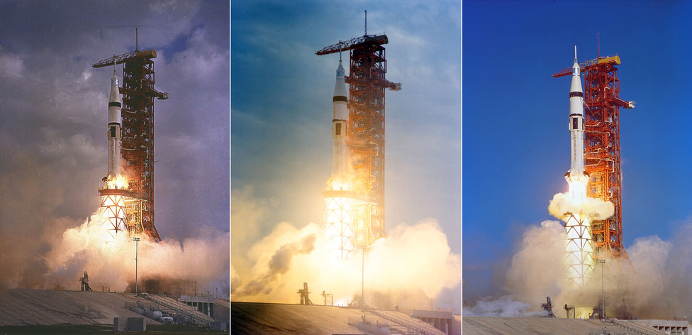 Gyakran megfeledkezünk a posztapolló évek emberes űrrepüléseiről a Skylab-2, -3 és -4 küldetésekről (1973. május 25., 1973. július 28. és 1973. november 16.). A Saturn-IB rakéták az első és egyetlen, kutatási célokat szolgáló amerikai űrállomásra vitték az űrhajósokat. (Skylab-2: Pete Conrad, Paul Weitz és Joseph Kerwin; Skylab-3: Alan Bean, Jack Lousma és Owen Garriott, Skylab-4: Gerald Carr, William Pogue és Edward Gibson)