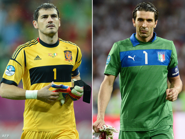 Iker Casillas és Gianluigi Buffon