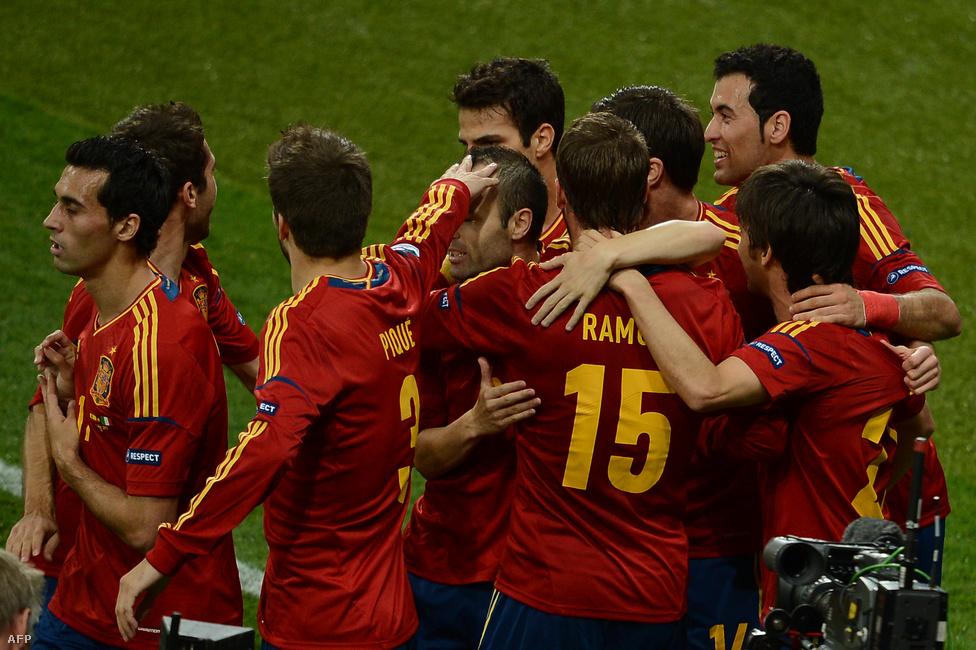 Örülnek a spanyolok
