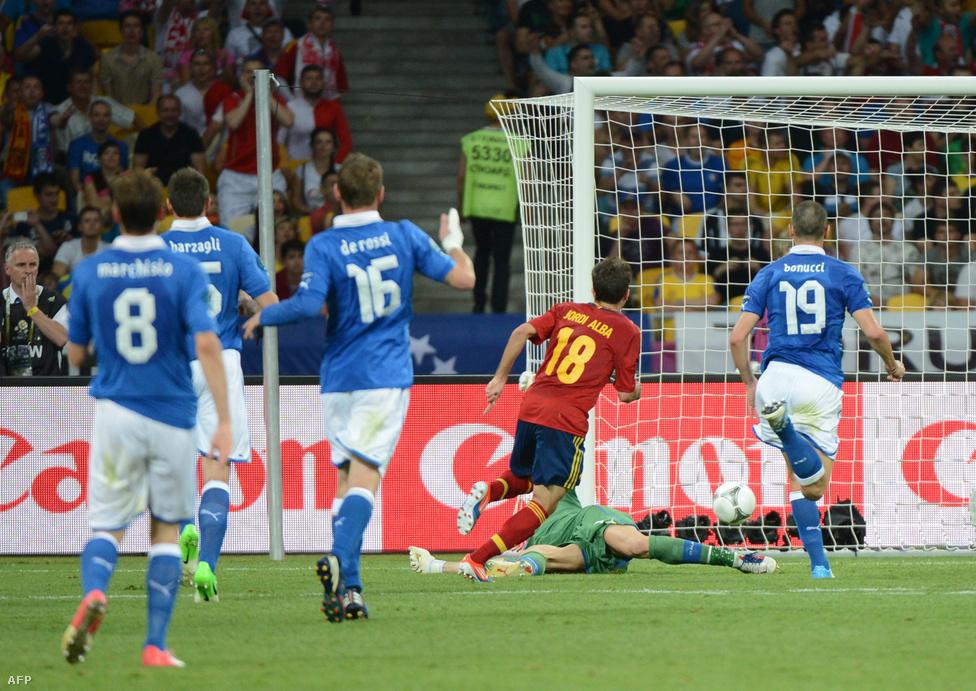 Jordi Alba góljával 2-0