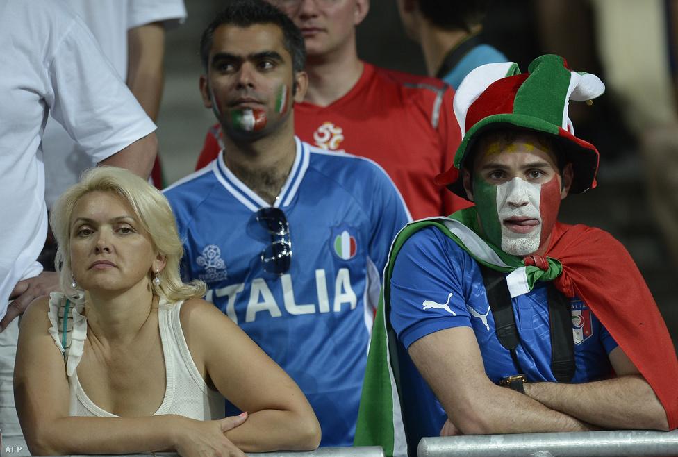 Az olasz szurkolók már hazavágynak