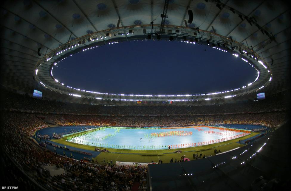 A kijevi aréna.