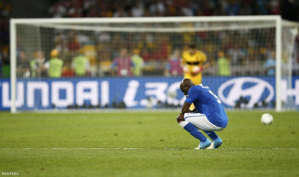 Balotelli összeomlott