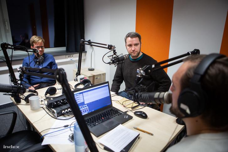 Mező János Bálint (balra) és Mikecz Dániel