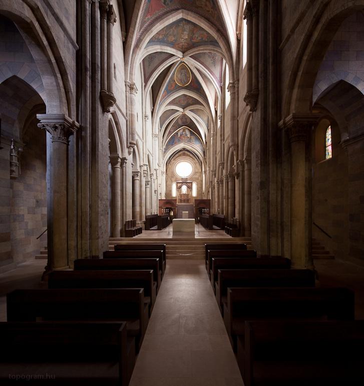 Szent Márton bazilika Pannonhalma 2 Fotó Török Tamás
