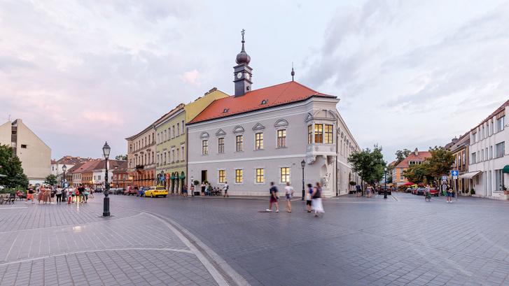 Régi budai városháza Fotó Danyi Balázs