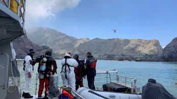 Nem keresik tovább az új-zélandi vulkánkitörés eltűntjeit