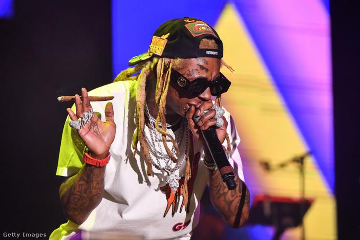 Lil Wayne előadás közben