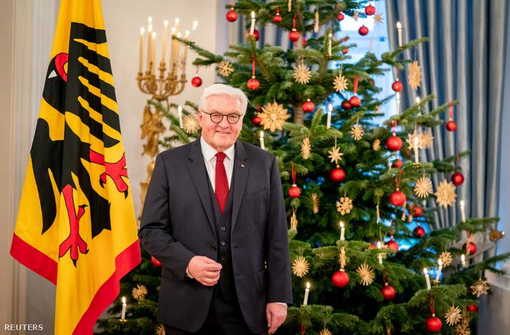 Frank-Walter Steinmeier is ünnepi beszédet mondott