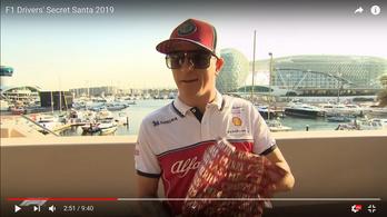 Mit kaptak egymástól az F1-pilóták karácsonyra?