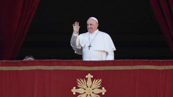 Ferenc pápa békét és megvilágosodást sürgetett a sötétség uralta világban
