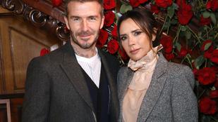 Beckhaméknek is belefért egy-egy kínos karácsonyi képeslap