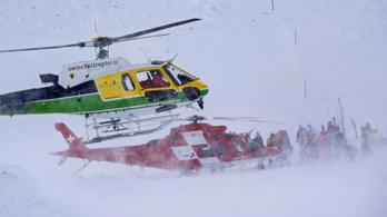 Többen eltűntek egy svájci lavinában