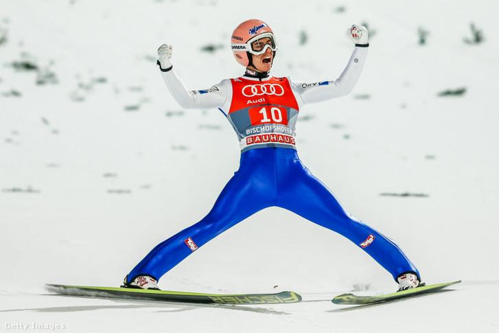 Stefan Kraft Bischofshofenben 2016. január 6-án.