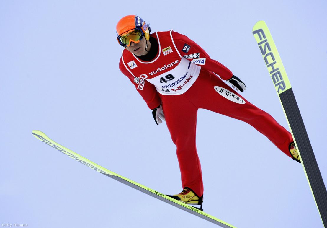 Kaszai Noriaki Garmisch-Partenkirchenben 2005. december 31-én.
