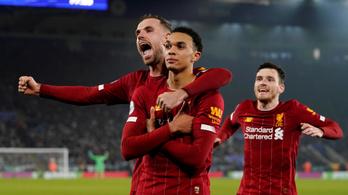 Kiütéssel nyert a Liverpool a karácsonyi forduló rangadóján