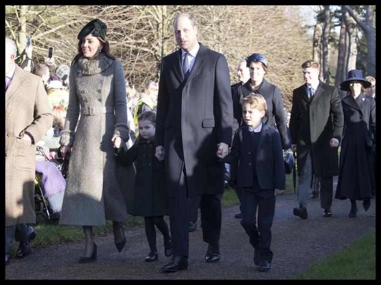 Idén sem maradt el az angol királyi család karácsonyi templomjárása