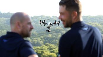 Virtuális rendszámot tennének a drónokra