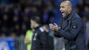Új edzővel menekülne a kiesés elől a Fradit az EL-ből kiejtő Espanyol