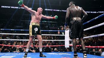 Las Vegasban rendezik a nehézsúlyú boksz sztármeccsét