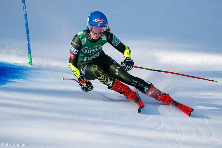 Mikaela Shiffrin 63. győzelmét szerezte meg a lienzi világkupafutamon
