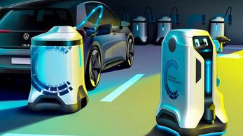 Önműködő töltőrobotokat fejleszt a Volkswagen