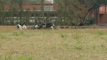 Öt ember meghalt egy repülőgép-balesetben Louisianaban