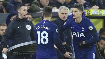 A Tottenham képtelen volt megverni a tök utolsót