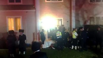 Öt embert késelt meg egy álarcos támadó egy amerikai rabbi otthonában