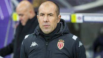 Másodszorra is kirúgta korábbi sikeredzőjét a Monaco