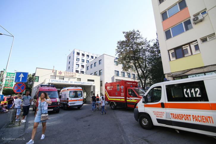 A bukaresti Floreasca kórház