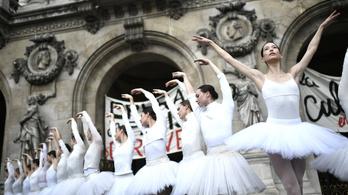 Engedményeket ajánlott a francia kormány a nyugdíjkorhatár emelése ellen tiltakozó balettművészeknek