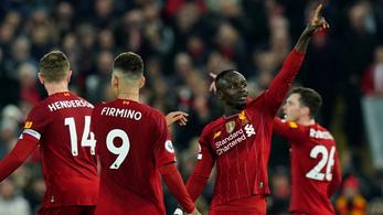 Ha szűken is, de nyert a megállíthatatlan Liverpool