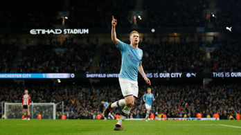 Megvan Guardiola 100. győzelme a Premier League-ben