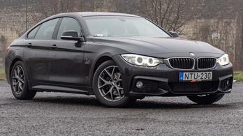 Használtteszt: BMW 418d Gran Coupe Aut., M Sport - 2016.