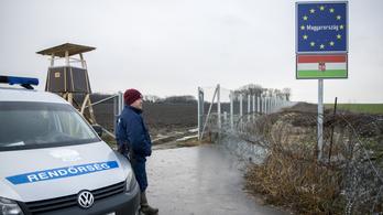 Egy hétvége alatt 443 határsértőt fogtak el