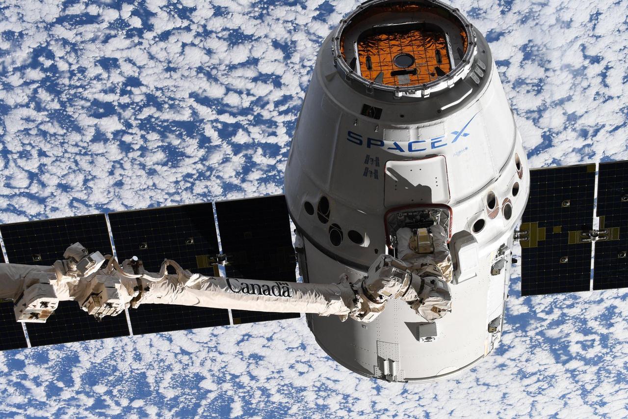 A SpaceX Dragon teherűrhajója