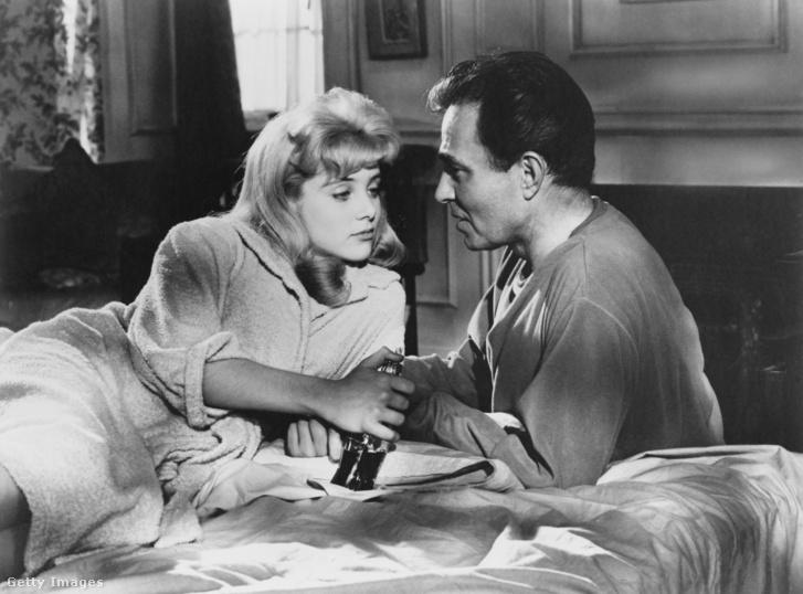 Humbert és Lolita Kubrick 1962-es filmjében.