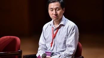 Elítélték a kínai ikreket létrehozó tudósokat