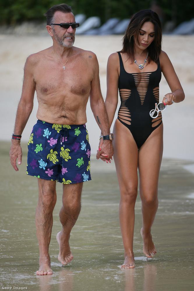 Bannatnye 70 éves, a felesége 38.