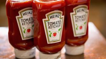 Megfordított egy ketchupos üveget, milliomos lett