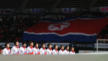 Visszalépett az olimpiai selejtezőtől az észak-koreai női futballválogatott