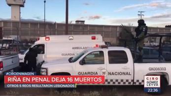 16 rab halt meg egy mexikói börtönincidensben