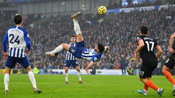 A Chelsea évtizednyitó góljára káprázatos ollózás volt a válasz
