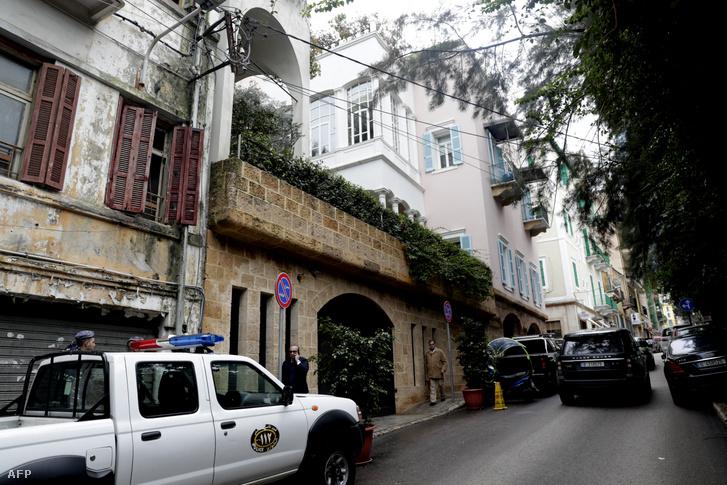 A bírósági dokumentumok szerint ebben a libanoni épületben lakik Carlos Goshn Bejrútban
