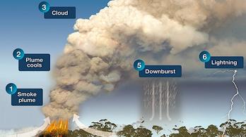 Olyan méreteket ölt az ausztráliai bozóttűz, hogy már saját időjárást is generál