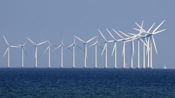 Környezetvédelem dán módra: az áram felét már a szélerőművek fedezik