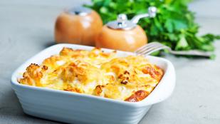 Isteni minimálfogás: tojásos, morzsás karfiol tejföllel és füstölt sajttal